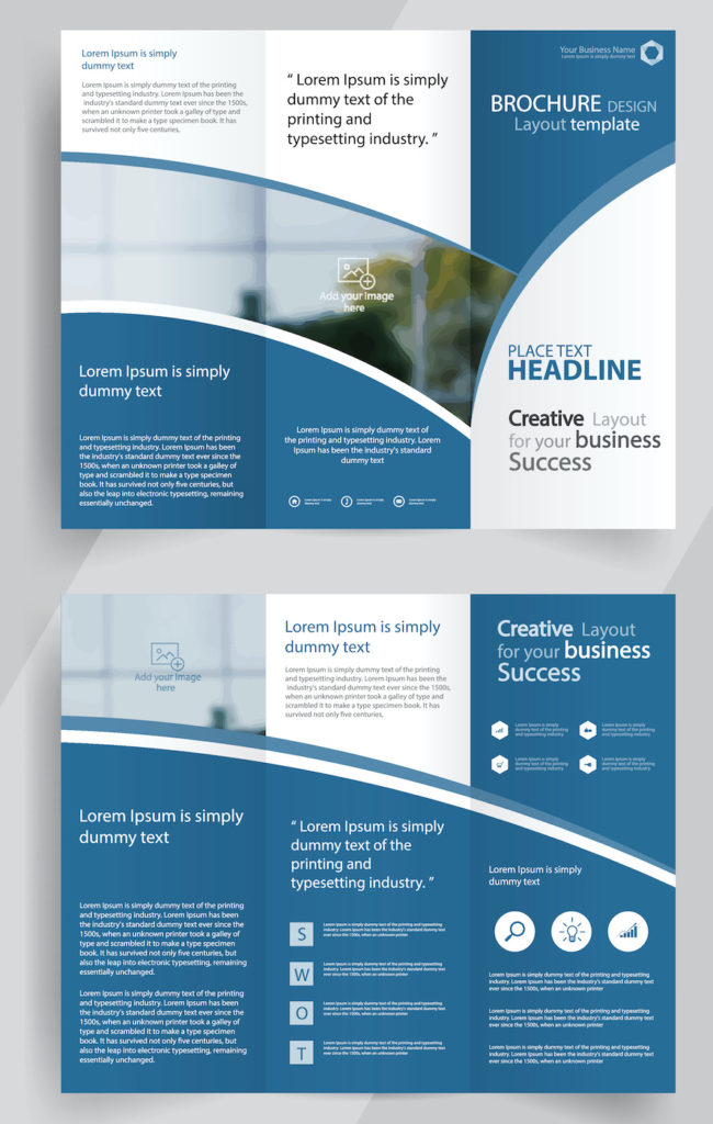 Volantino differenza tra brochure e flyer