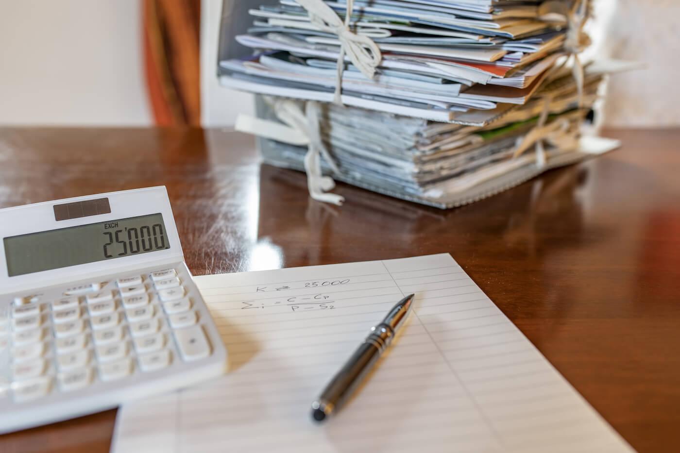 Commerclalista - scrivania costi e tariffario