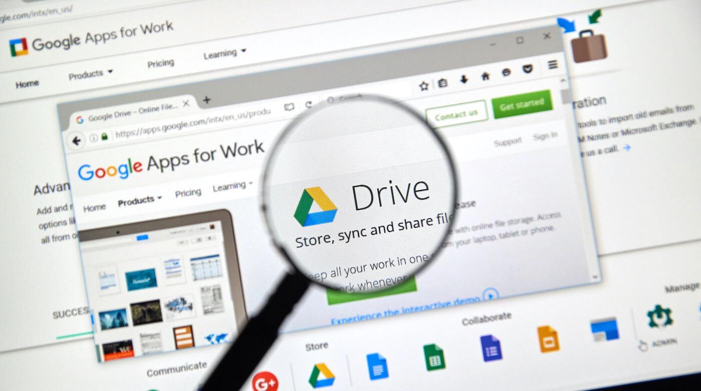 desk google drive guida completa